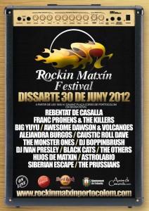 Rockin Matxin Festival 2012_Cartell 1