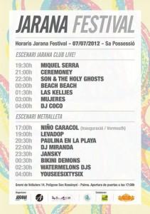 Jarana Festival_horaris