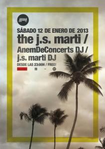 Cartell concert the j.s.marti Jarana Club_12gen13