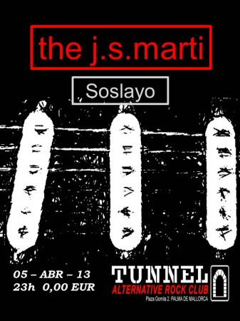 Cartell the j.s.marti i Soslayo Tunnel_05abr13