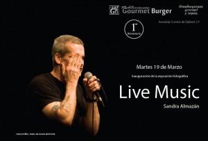 Live Music: Exposició de fotos de concerts per Sandra Almazán