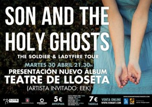 Cartell Son & The Holy Ghosts Teatre Lloseta
