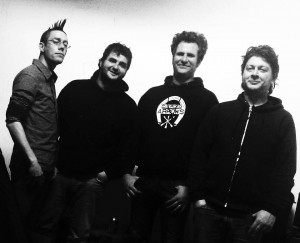 Formació DMC 2013: Jordi H1000VM, Toni Ramone, David Clavo i Gin Spectra
