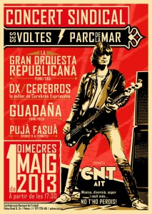 cartell Concert Sindical