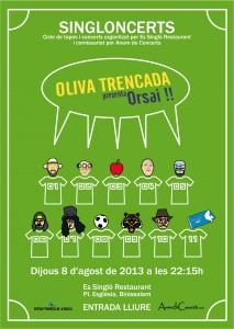 Poster Oliva Trecada Singloncerts_OK