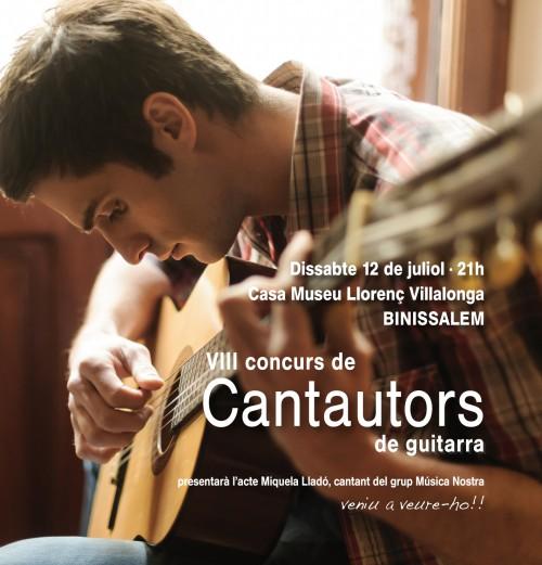 anunci CANTAUTORS 2014