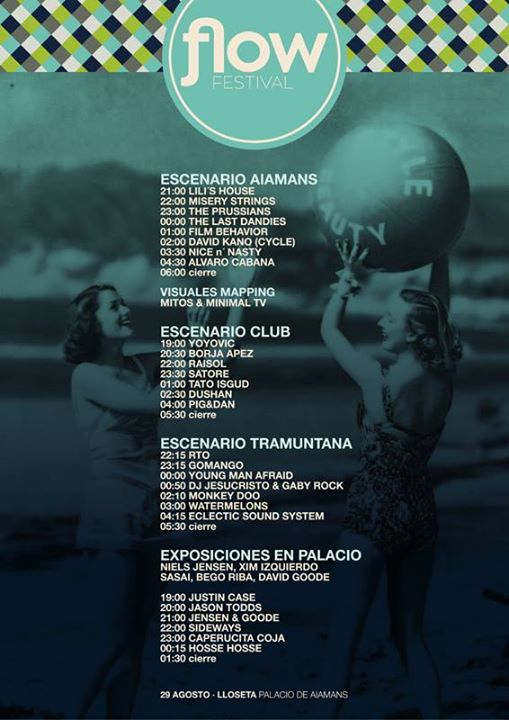 horaris Flow Festival 2014
