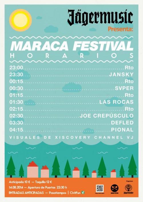 horaris Maraca Fest 2014