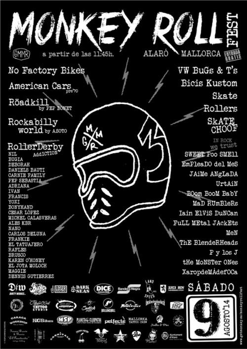 monkey roll fest 2014