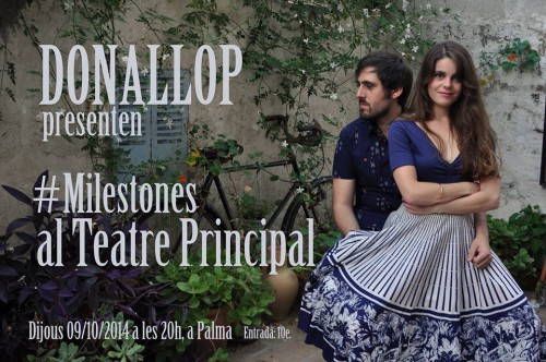 presentacio Milestones de Donallop a Teatre Principal