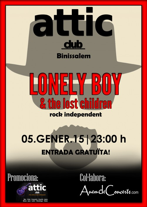 CARTELL LONELY BOY ATTIC CLUB