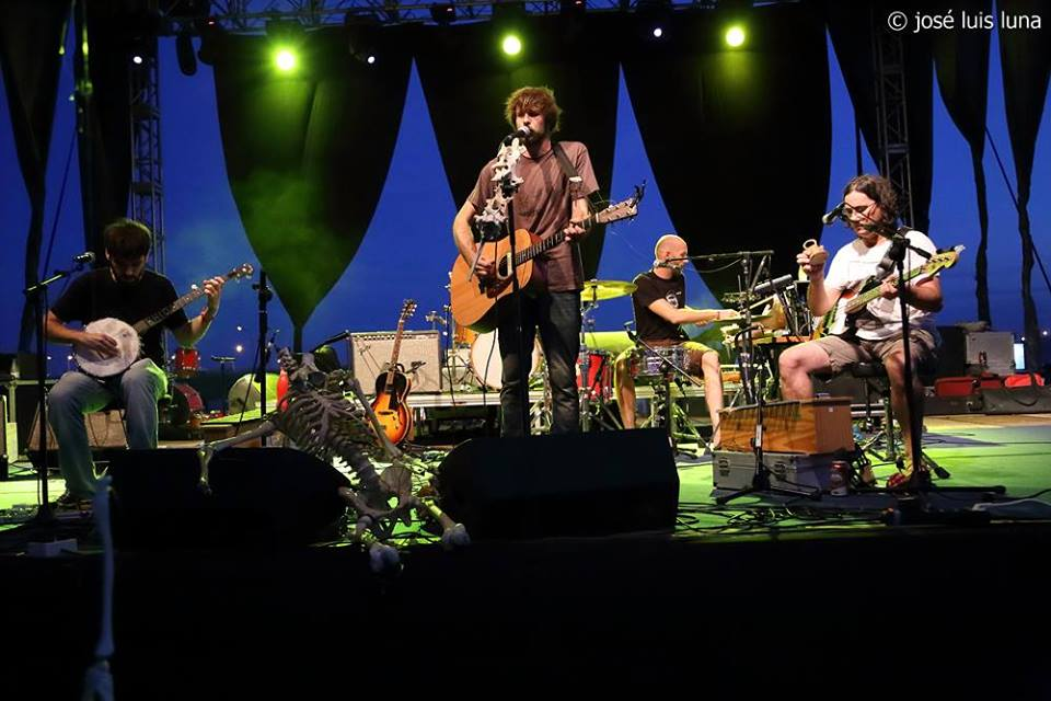 Misery Strings al Solar Fest 2014. Foto per José Luis Luna