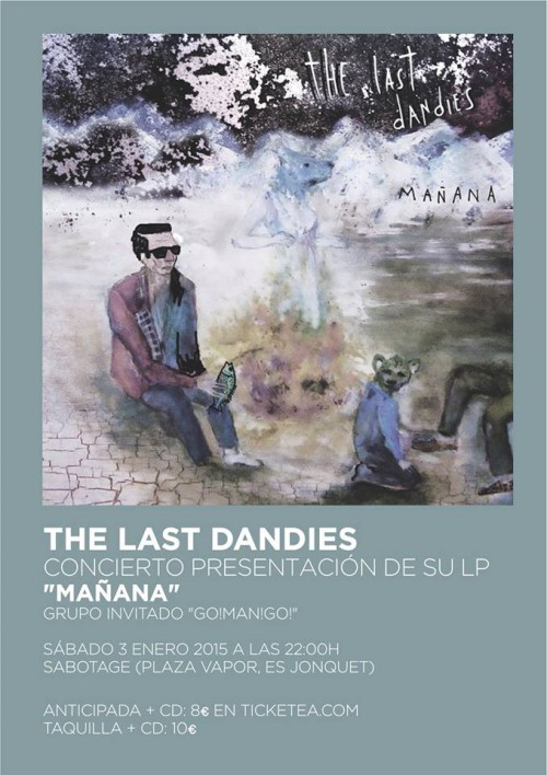 poster the last dandies presentacio manana