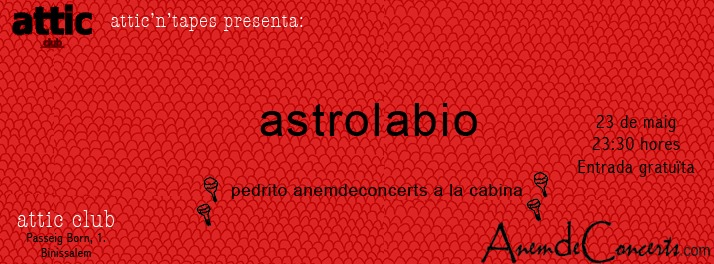 cartell astrolabio a atticntapes_2