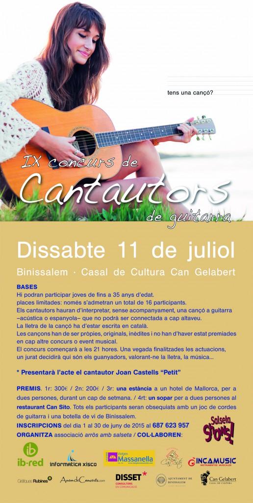 CARTELL CANTAUTORS 2015