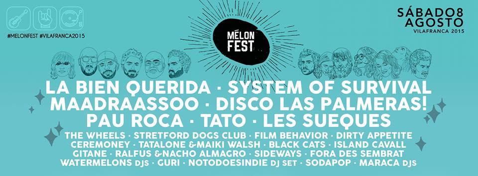 cartell MelonFest 2015