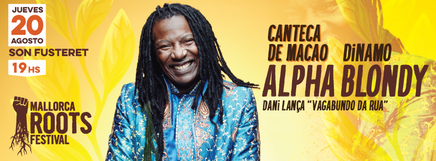 cartell horitzontal Alpha Blondy