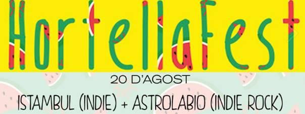 cartell hortella fest astrolabio
